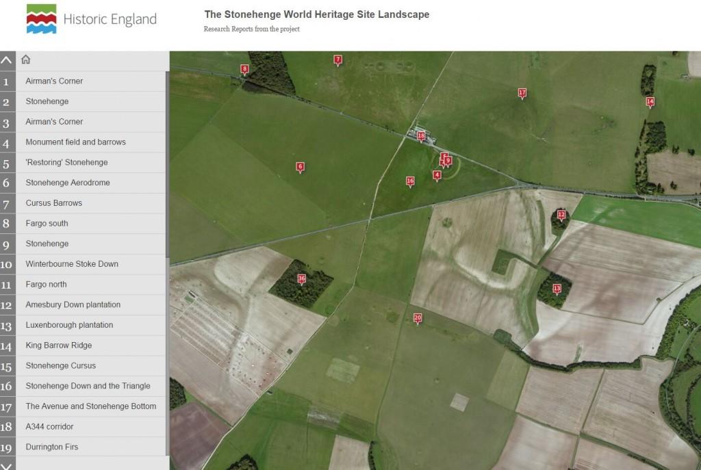 stonehenge storymap